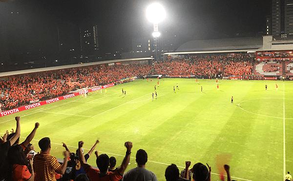 タイリーグカップ2019、ブリーラム・ユナイテッドVSPT プラチュワップ FCの試合