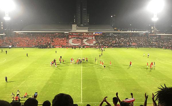 タイリーグカップ2019、ブリーラム・ユナイテッドVSPT プラチュワップ FCの優勝の決まった瞬間