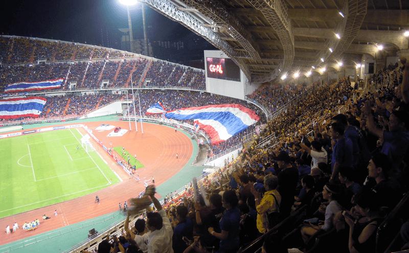 タイのラジャマンガラ・スタジアム